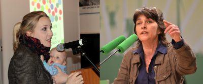 Franziska Krumwiede-Steiner und Barbara Steffens