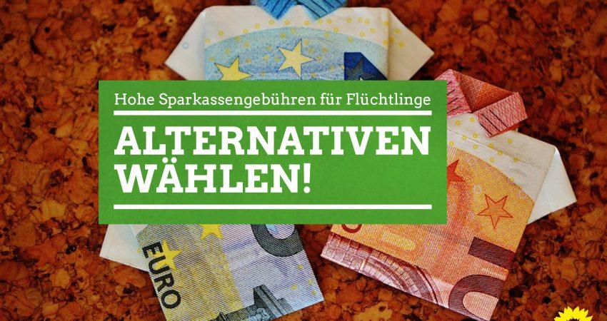 Hohe Sparkassengebühren für Flüchtlinge - https://pixabay.com/en/the-last-shirt-bank-note-20-euro-1515580/