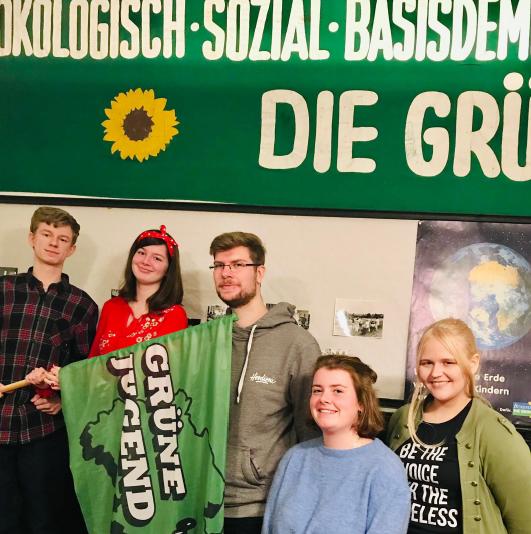 Grüne Jugend wählt neuen Vorstand