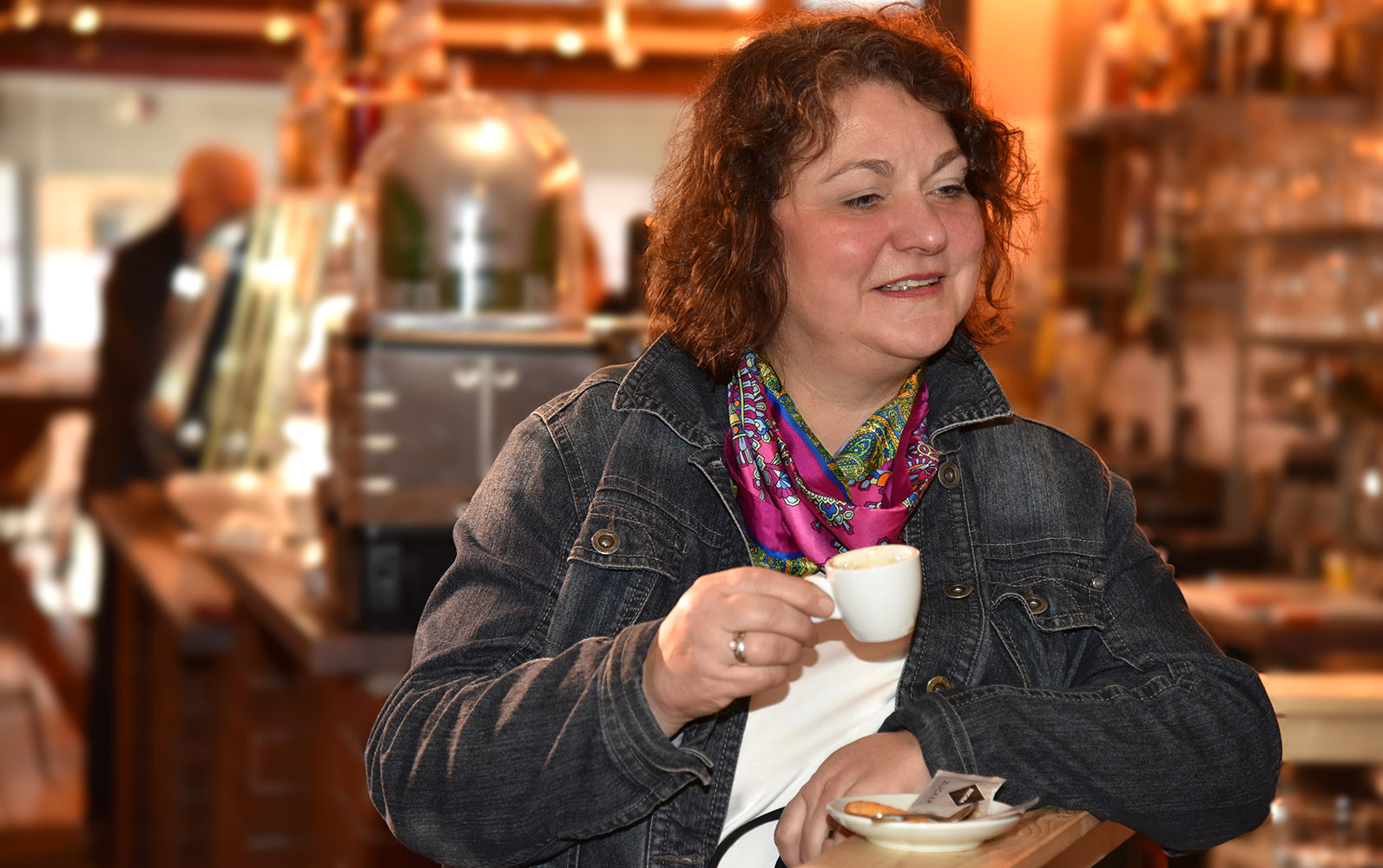 Auf einen Kaffee mit Diane Jägers