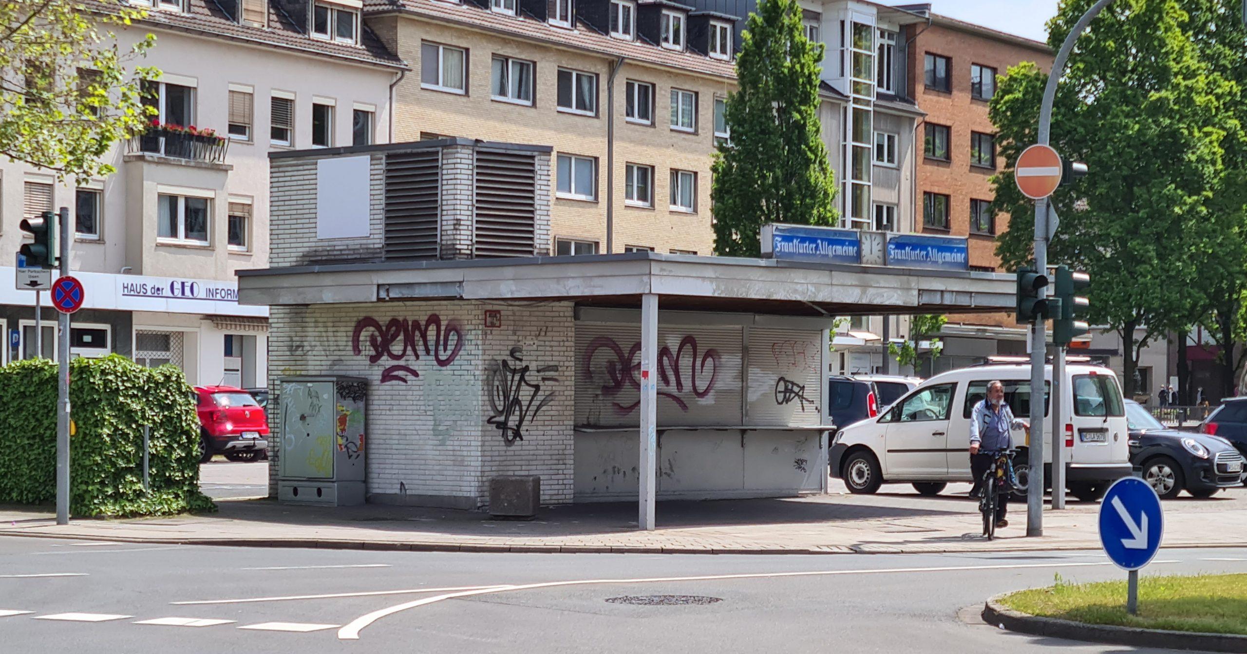 Der Rathausmarkt – Neugestaltung des Kiosk-Bereiches anpacken!